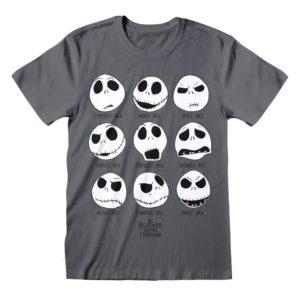 Camiseta Jack Skellington - Caras