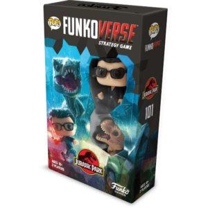 Juego mesa POP Funkoverse Jurassic Park 2fig Español
