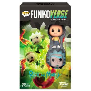 POP! Funkoverse Strategy Game - Rick and Morty 2 figuras de Funko.